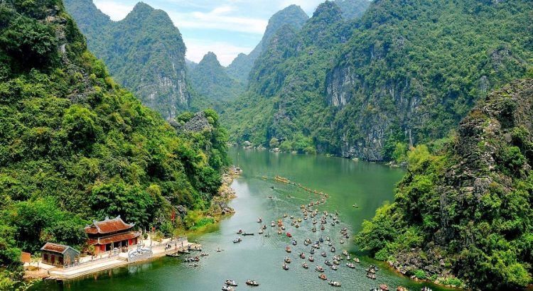 The beauty of Trang An - Halong on land