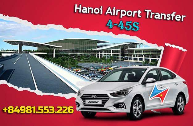 Hanoi airport transfer service with driver
