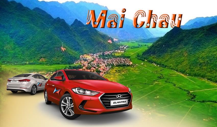 private car hanoi to mai chau with driver vietrapro