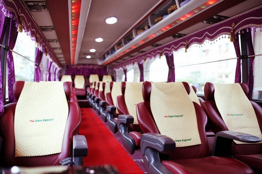 How to get to Sapa with Sapa express bus