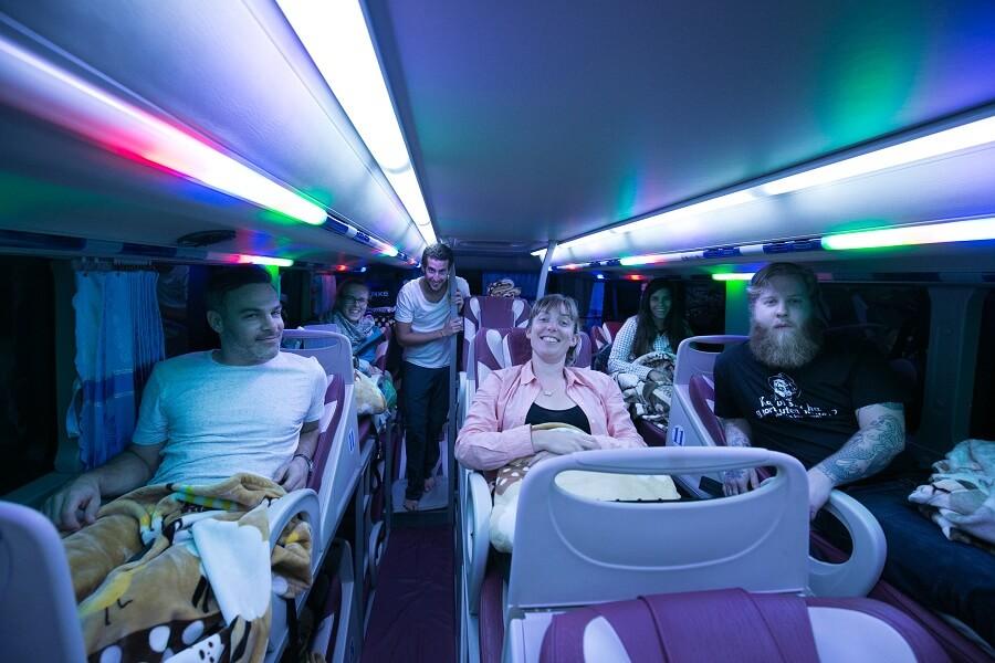 Sleeper bus to Sapa with Vietrapro