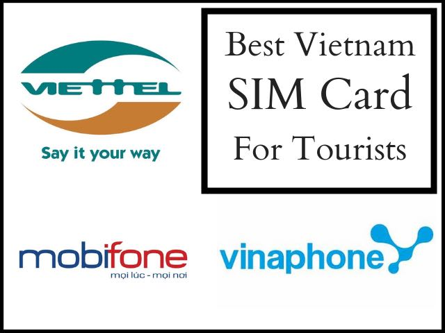 Vietnam sim card for tourist