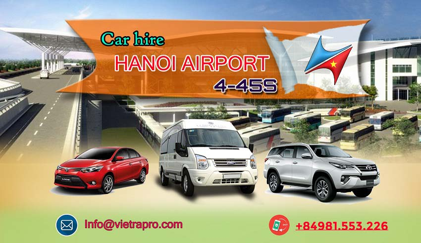 Car hire Hanoi airport with driver service
