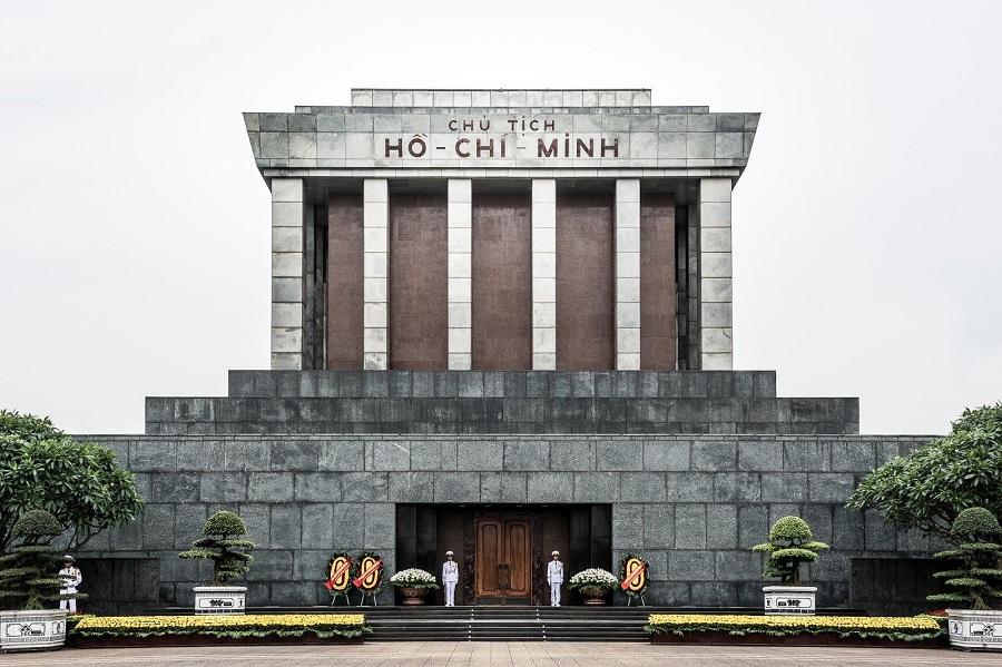 <p>Ho Chi Minh Mausoleum</p>