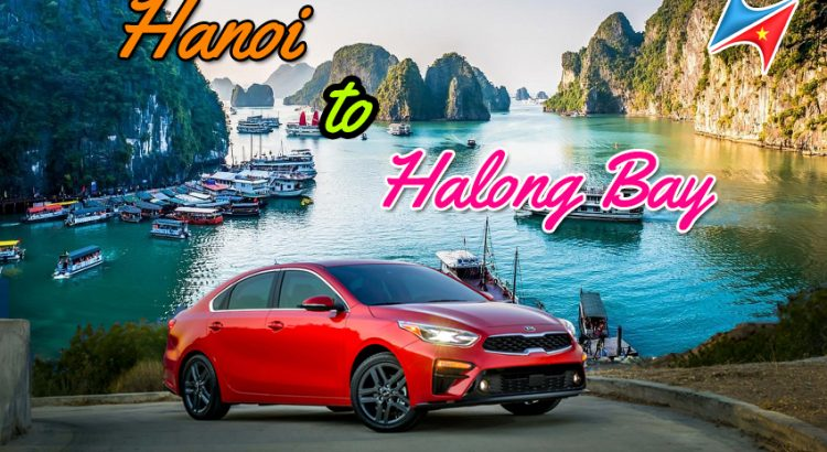 Private car Hanoi to Halong bay with driver Vietrapro