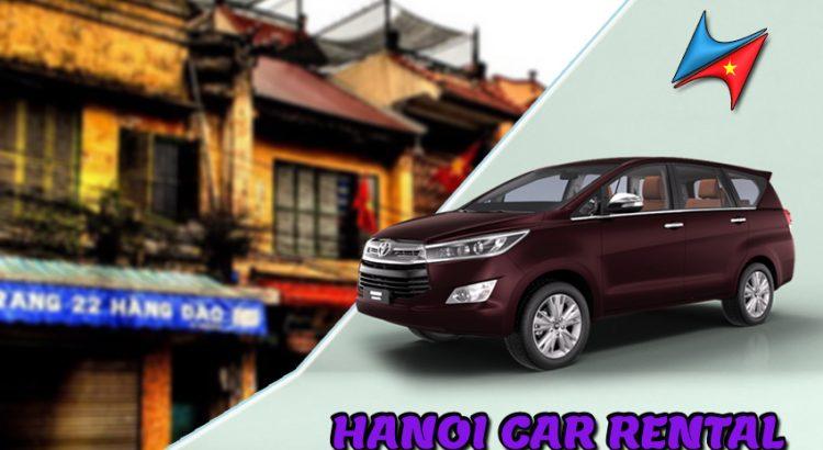 Hanoi car rental with driver service