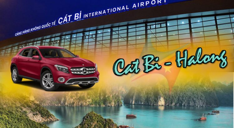 Cat bi airport to Halong bay with Vietrapro