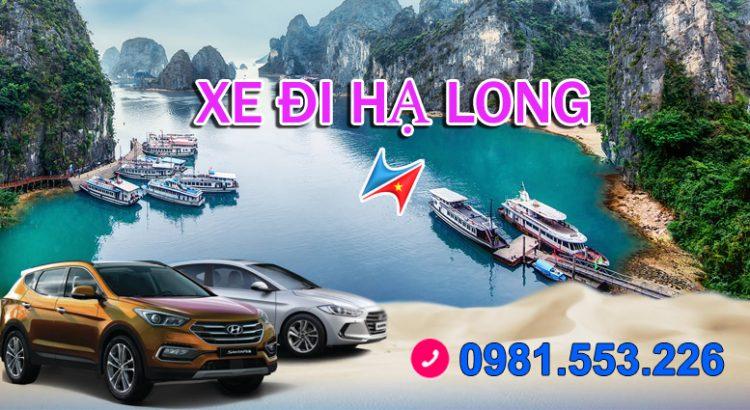 Thuê xe đi Hạ Long giá rẻ có lái