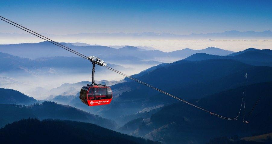 <p>Cáp treo chinh phục đỉnh Phanxipang</p>