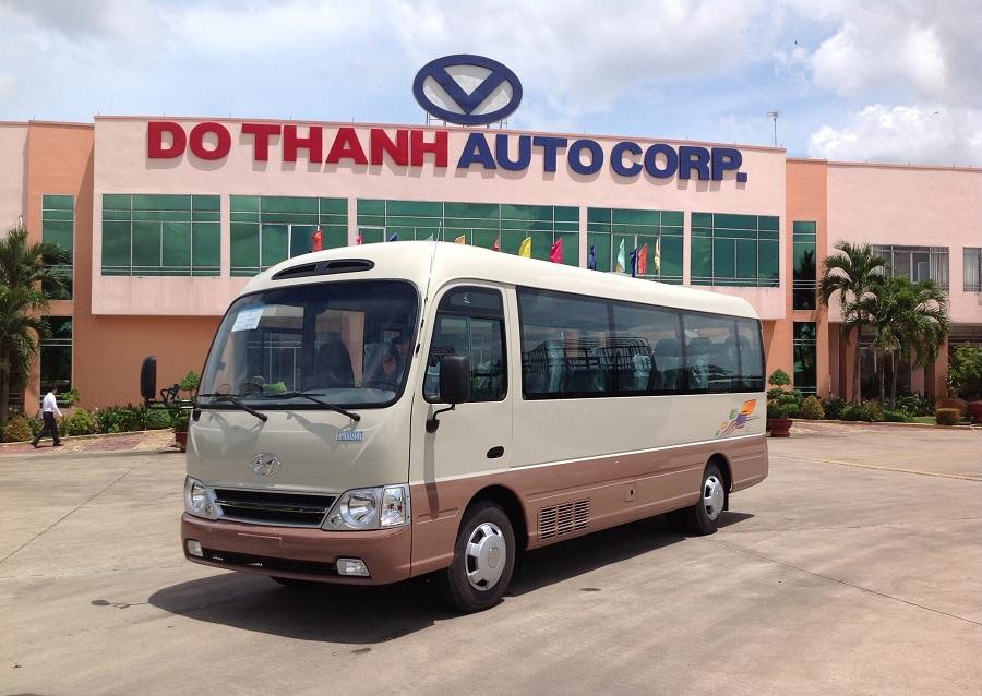 Thuê xe 29 chỗ tại Hà Nội