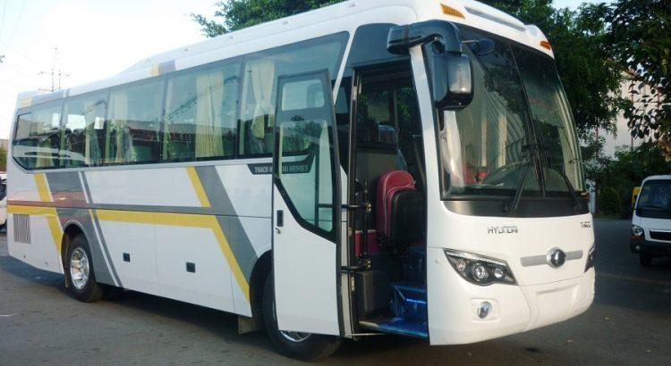 Dịch vụ cho thuê xe ô tô hyundai thaco 35 chỗ giá rẻ