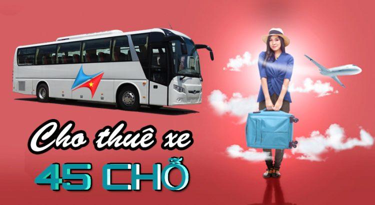 Cho thuê xe 45 chỗ tại Hà Nội Vietrapro