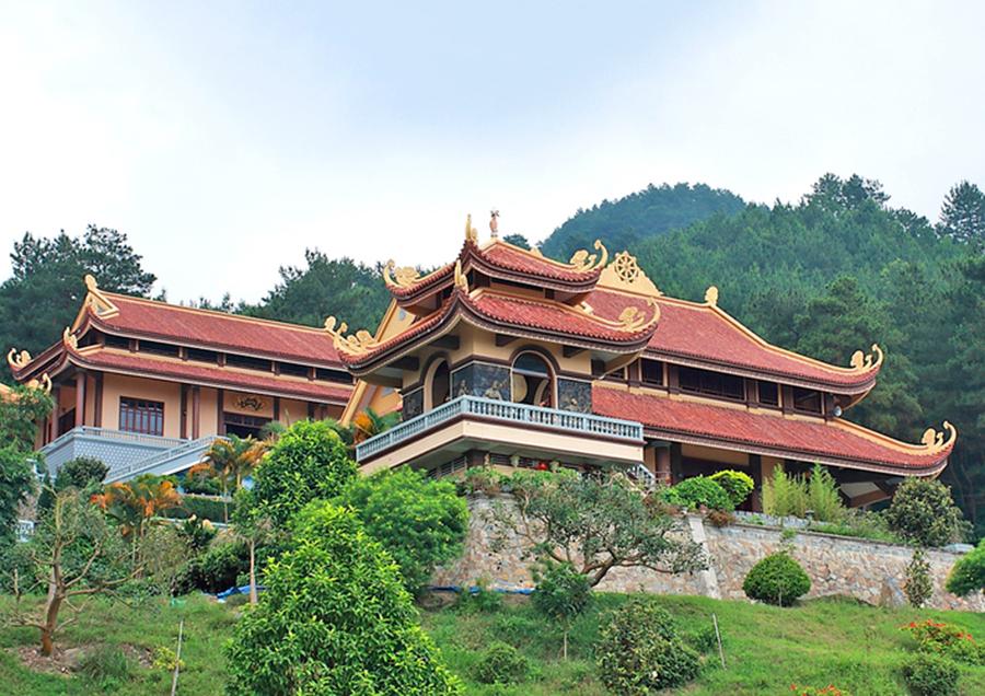 <p>Thiền viện trúc lâm Tây Thiên</p>