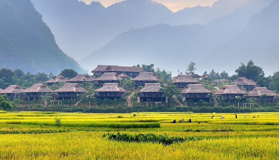 Du lịch bản lác Mai Châu