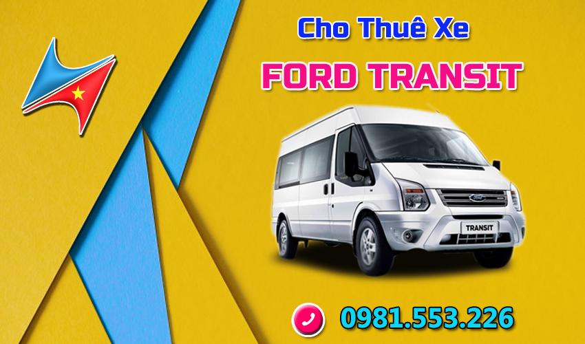 Cho thuê xe Ford Transit 16 chỗ tại Hà Nội