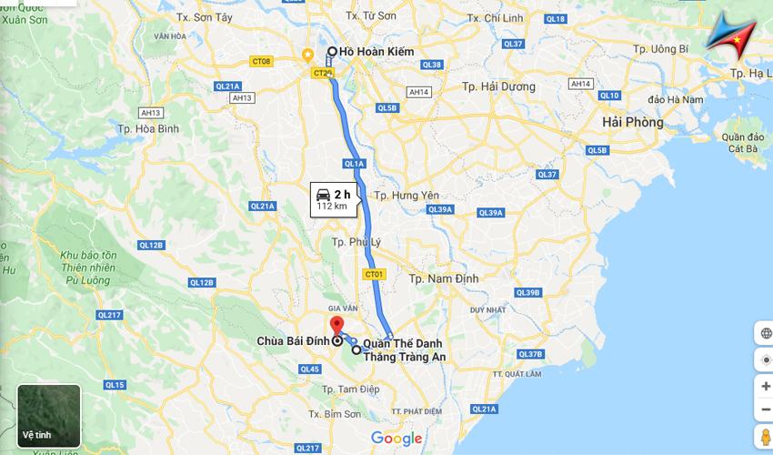 Lộ trình đi Bái Đính Tràng An từ Hà Nội - Vietrapro