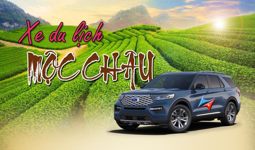 Cho thuê xe đi Mộc Châu từ Hà Nội Vietrapro