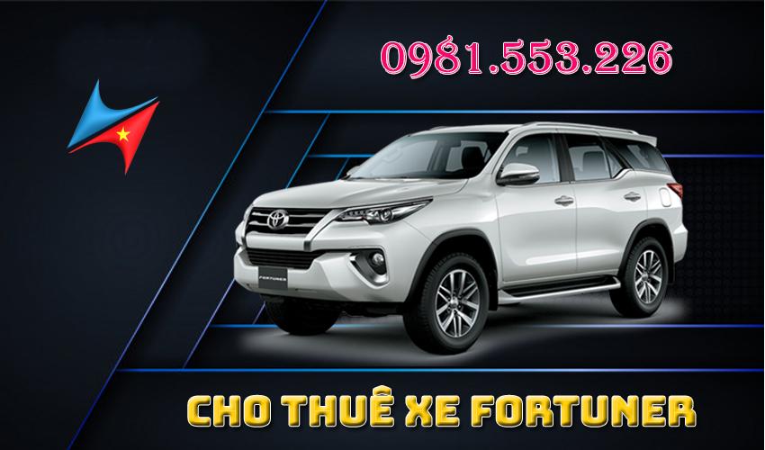 Dịch vụ cho thuê xe Fortuner tại Hà Nội -Vietrapro