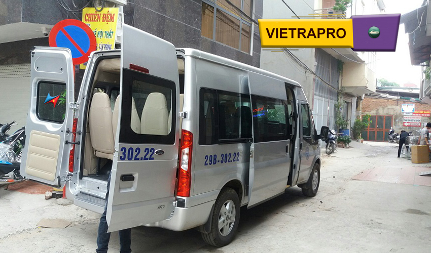 Cho thuê xe hơi có lái tại hà nội giá rẻ Vietrapro