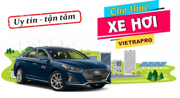 Cho thuê xe hơi có lái tại hà nội Vietrapro