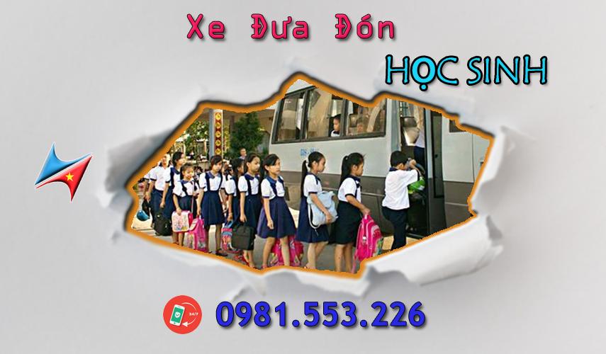 Dịch vụ đưa đón học sinh tại Hà Nội