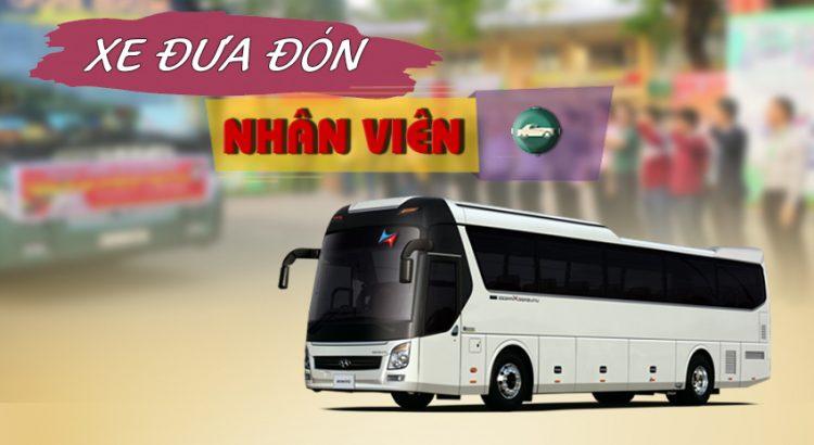 Dịch vụ cho thuê xe đưa đón nhân viên tại Hà Nội - Vietrapro