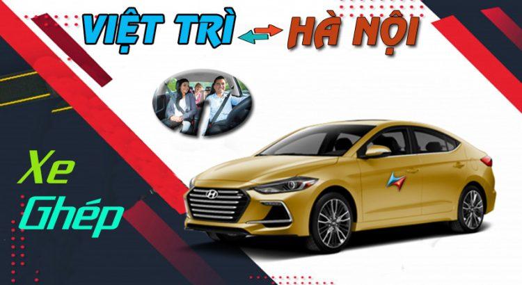 Dịch vụ xe ghép việt trì Hà Nội có lái Vietrapro