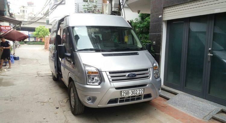 Cho thuê xe du lịch 16 chỗ đi Ninh Bình