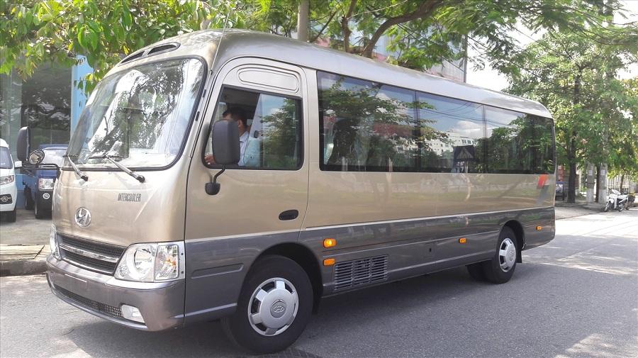 Giá thuê xe 29 chỗ tại Hà Nội