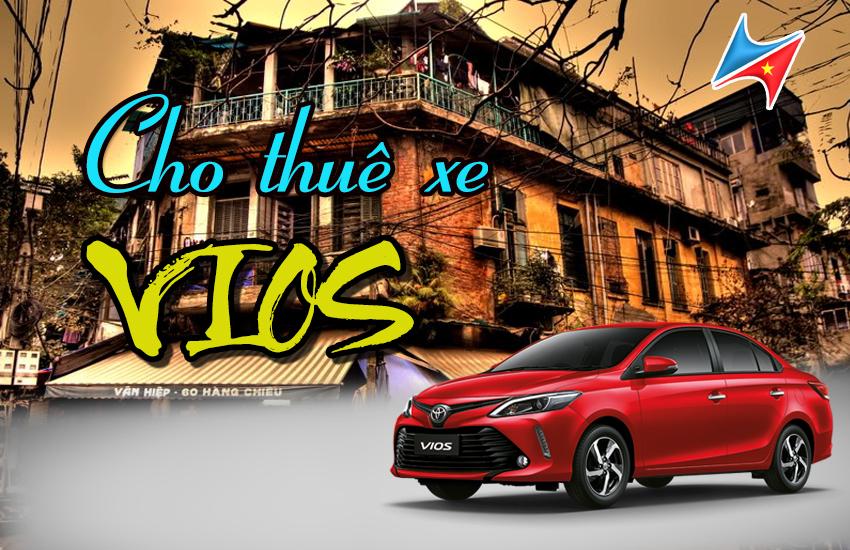 Cho thuê xe Vios tại Hà Nội