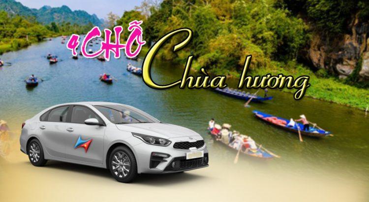 Dịch vụ cho thuê xe 4 chỗ đi chùa Hương - Vietrapro