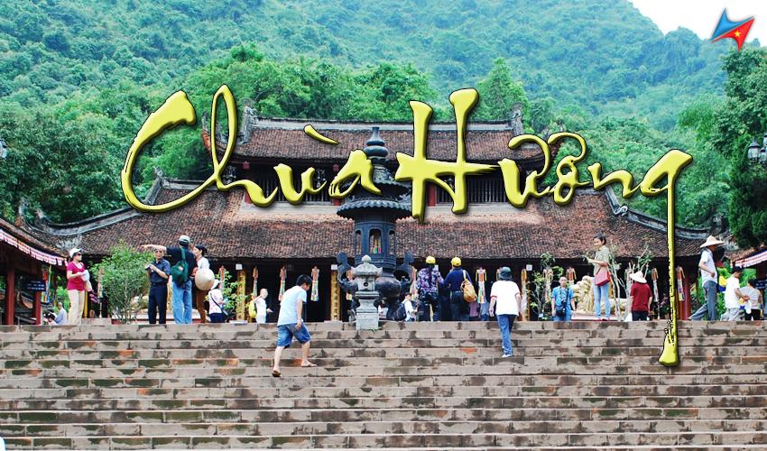 Cho thuê xe 4 chỗ đi chùa Hương từ Hà Nội Vietrapro