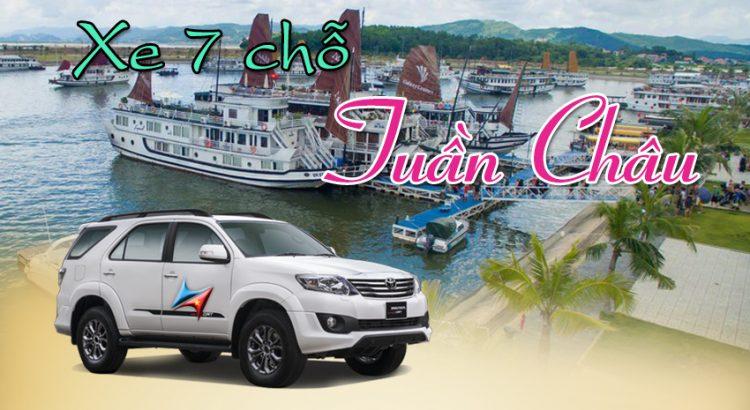 Cho thuê xe 7 chỗ đi Tuần Châu từ Hà Nội - Vietrapro