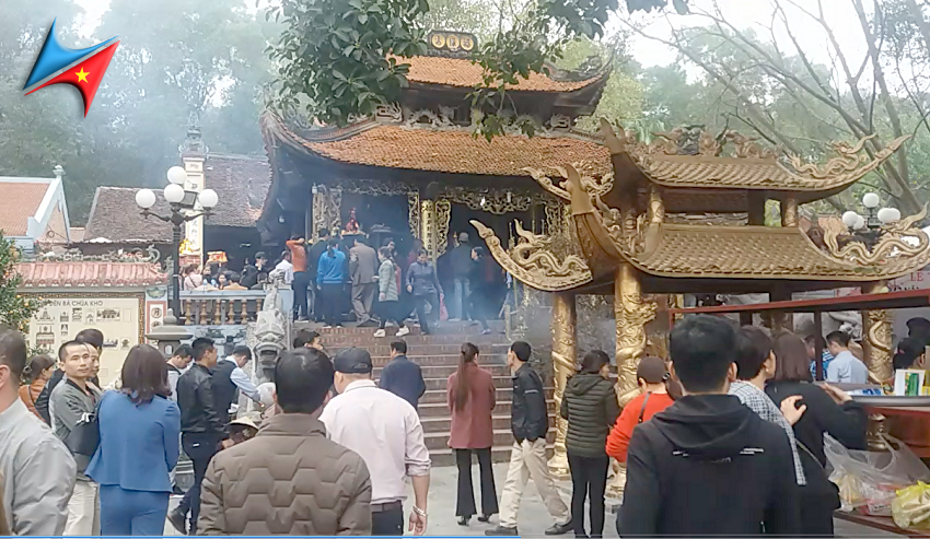 Thuê xe đi đền Bà Chúa Kho Bắc Ninh Vietrapro