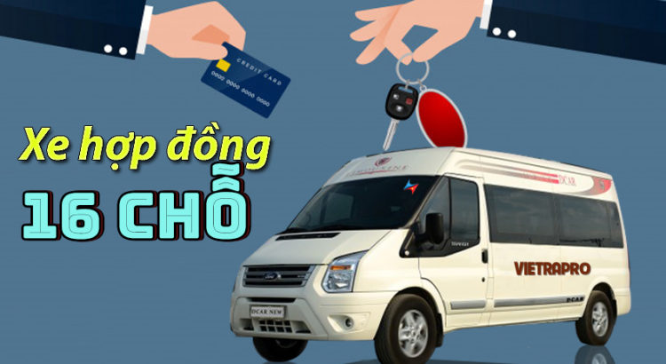 dịch vụ cho thuê xe hợp đồng 16 chỗ tại hà nội