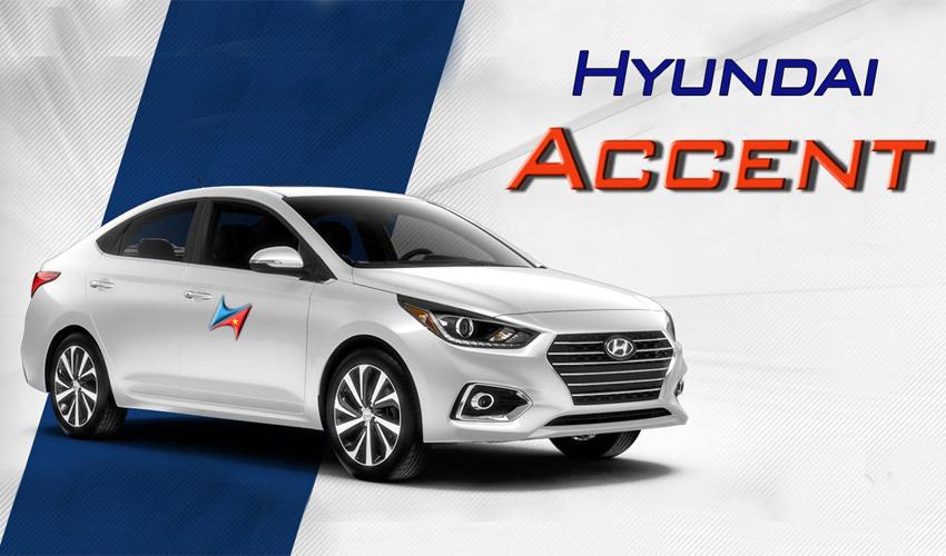 cho thuê xe hyundai accent tại hà nội giá rẻ có lái