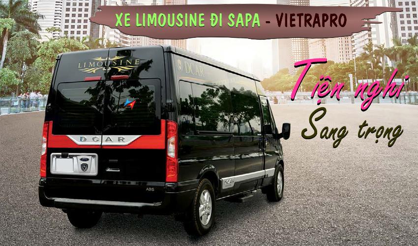 cho thuê xe limousine đi sapa giá rẻ từ hà nội