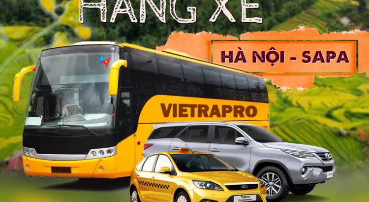 Các hãng xe đi Sapa từ Hà Nội